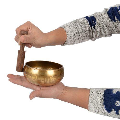 Como usar cuenco tibetano