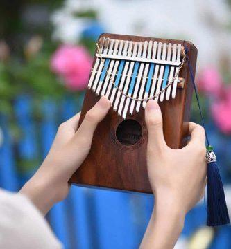 Instrumentos musicales, piano de mano, piano de bolsillo, piano portátil, calimba